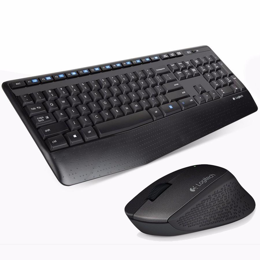 Teclado y Mouse Logitech Wireless MK345