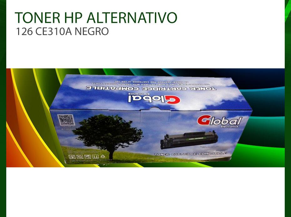Toner Alternativo Hp 126 Ce310a Negro 1025 176