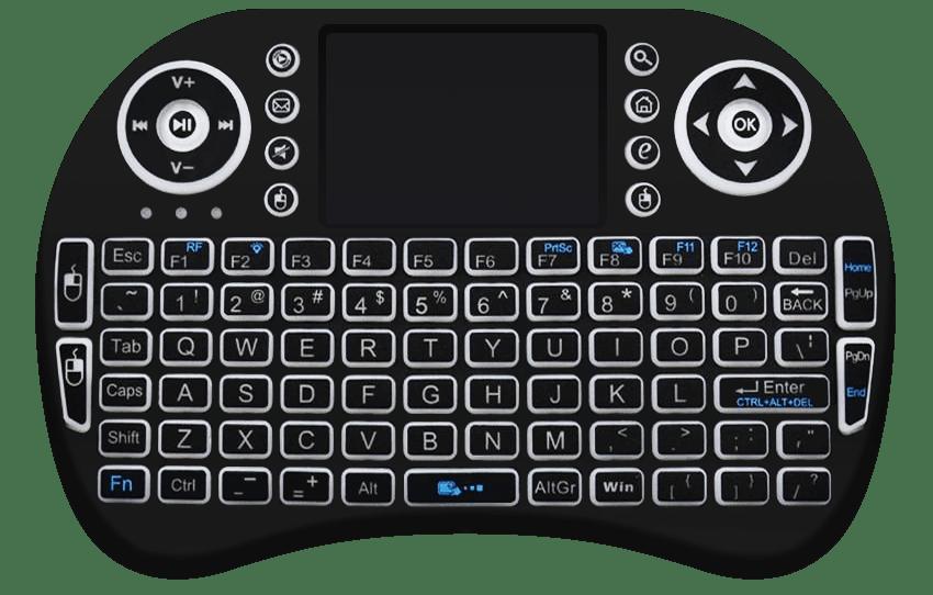 Teclado Smart Tv Touch Pad Wireless
