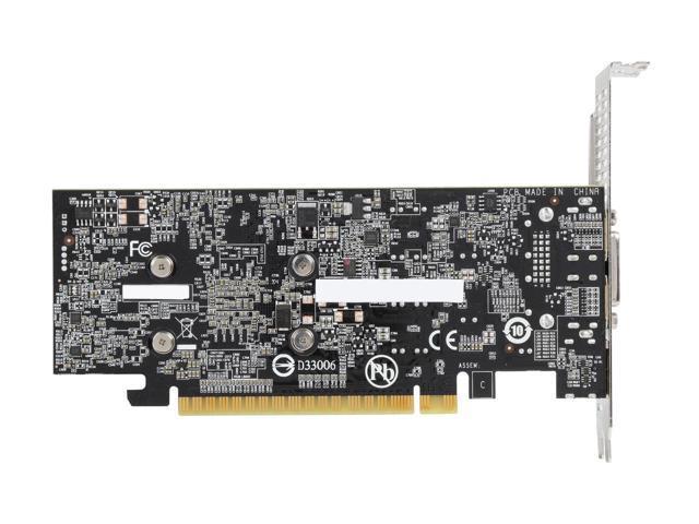 Placa de Video Gigabyte GeForce GTX 1050 ti Low Profile 4Gb