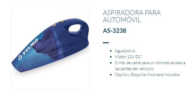 Aspiradora Yelmo AS-3238 12V P/Auto