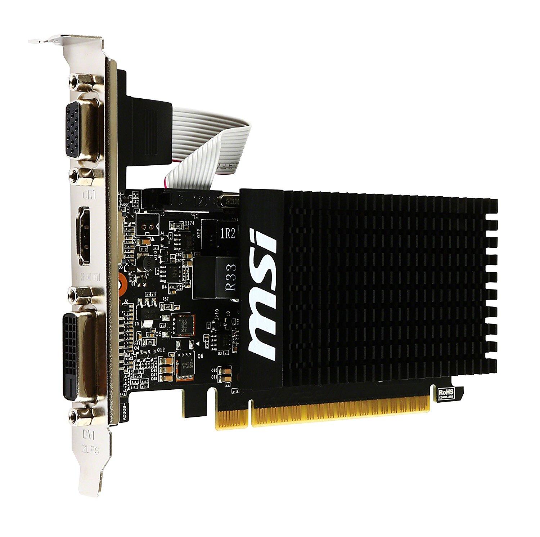 Placa de Video Msi Geforce Gt 710 1gb Ddr3