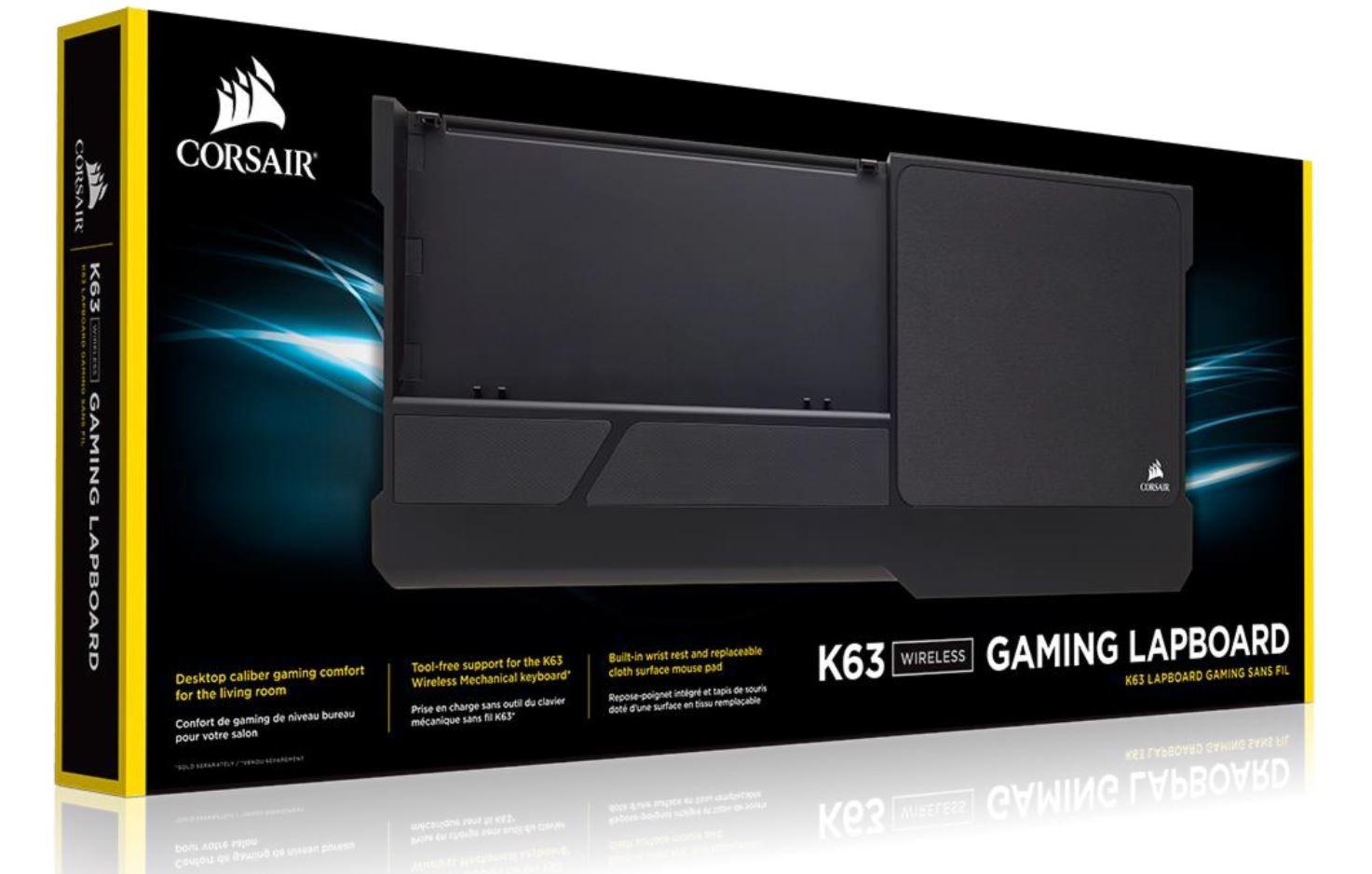 Teclado Corsair Lapboard Wireless K63