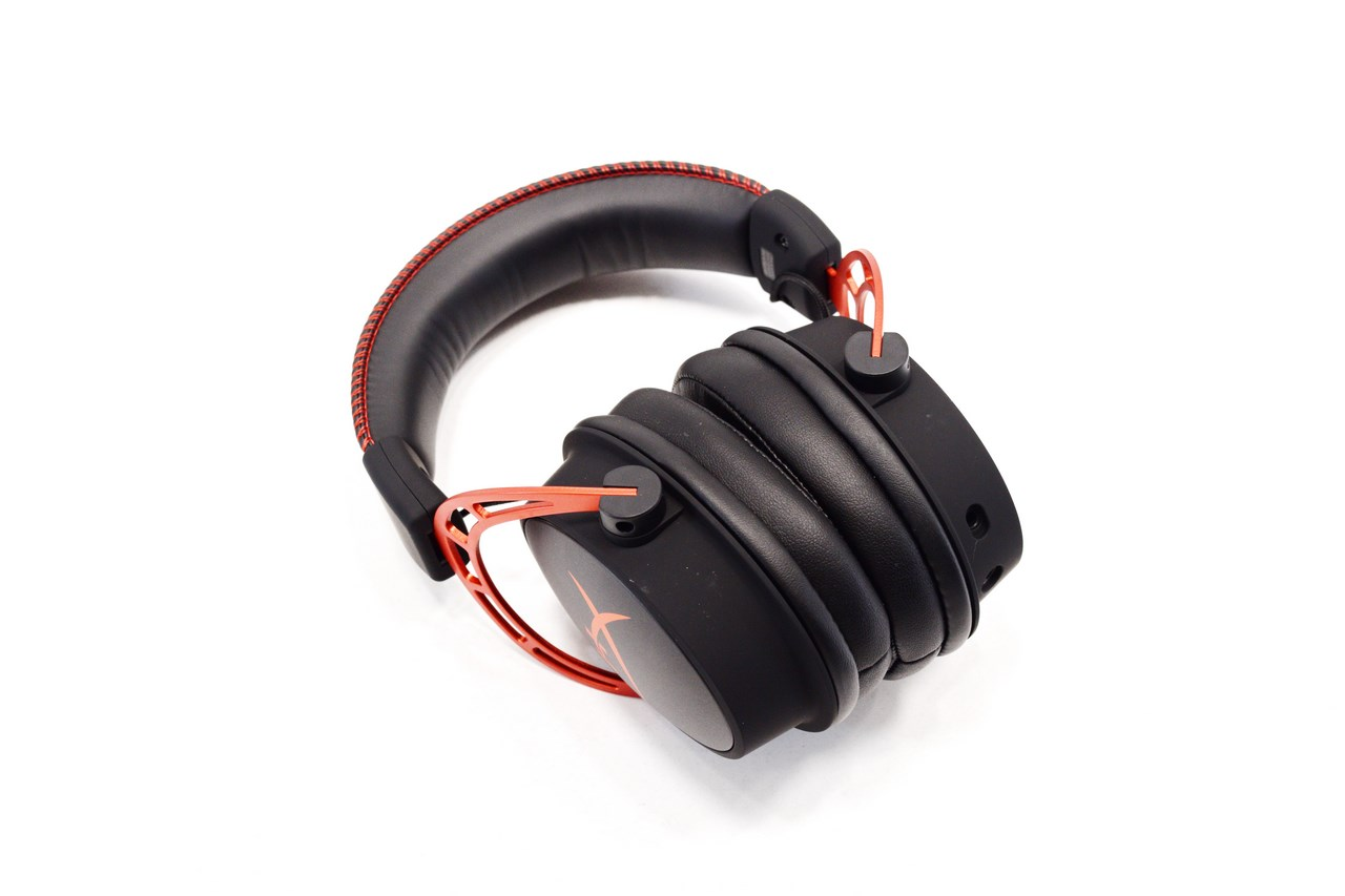 Auricular HyperX Cloud Alpha Red