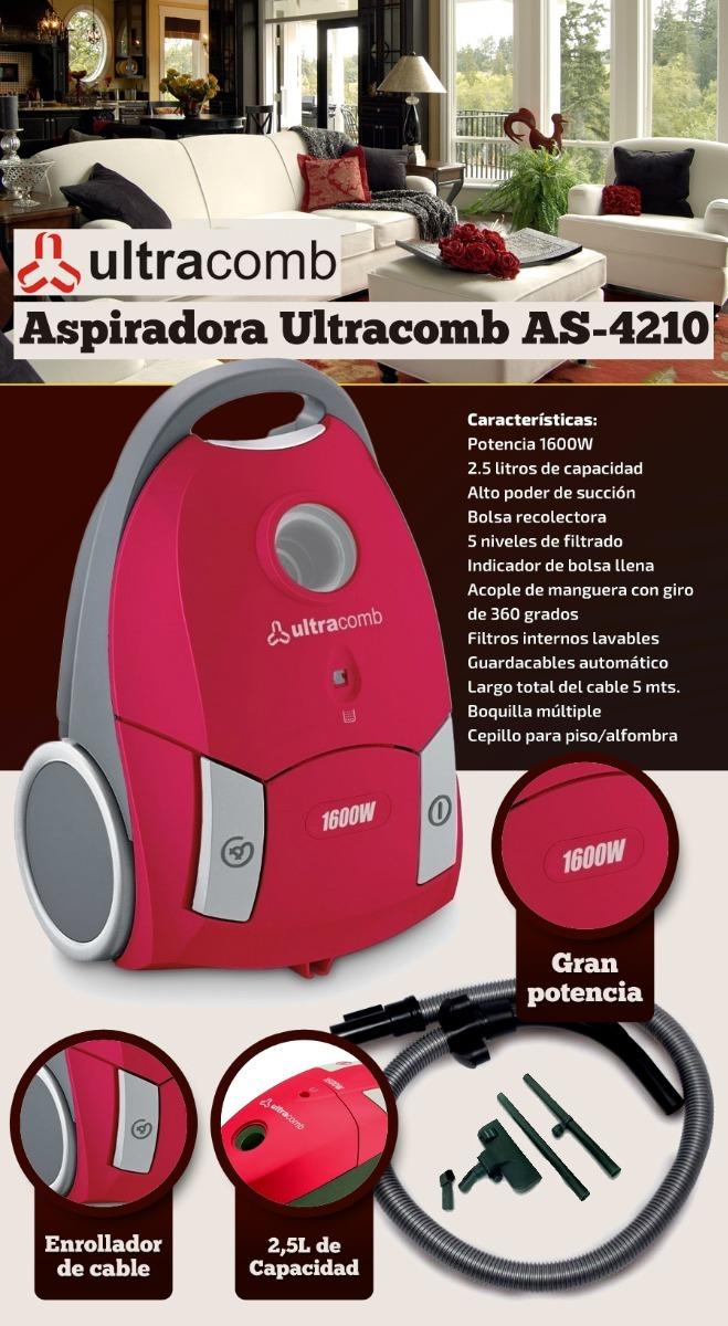 Aspiradora Ultracomb 1600W AS-4210