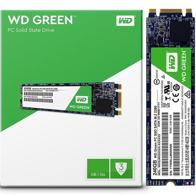 Disco Solido SSD 480 Gb WD M2 Sata Green