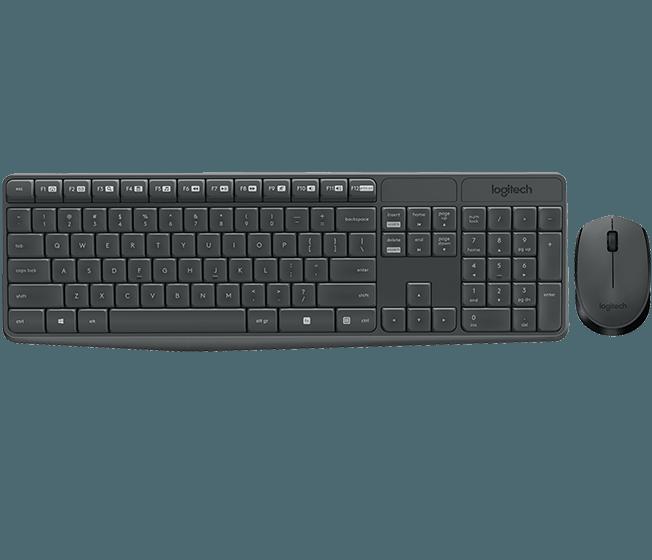Teclado y Mouse Logitech Inalambrico MK235