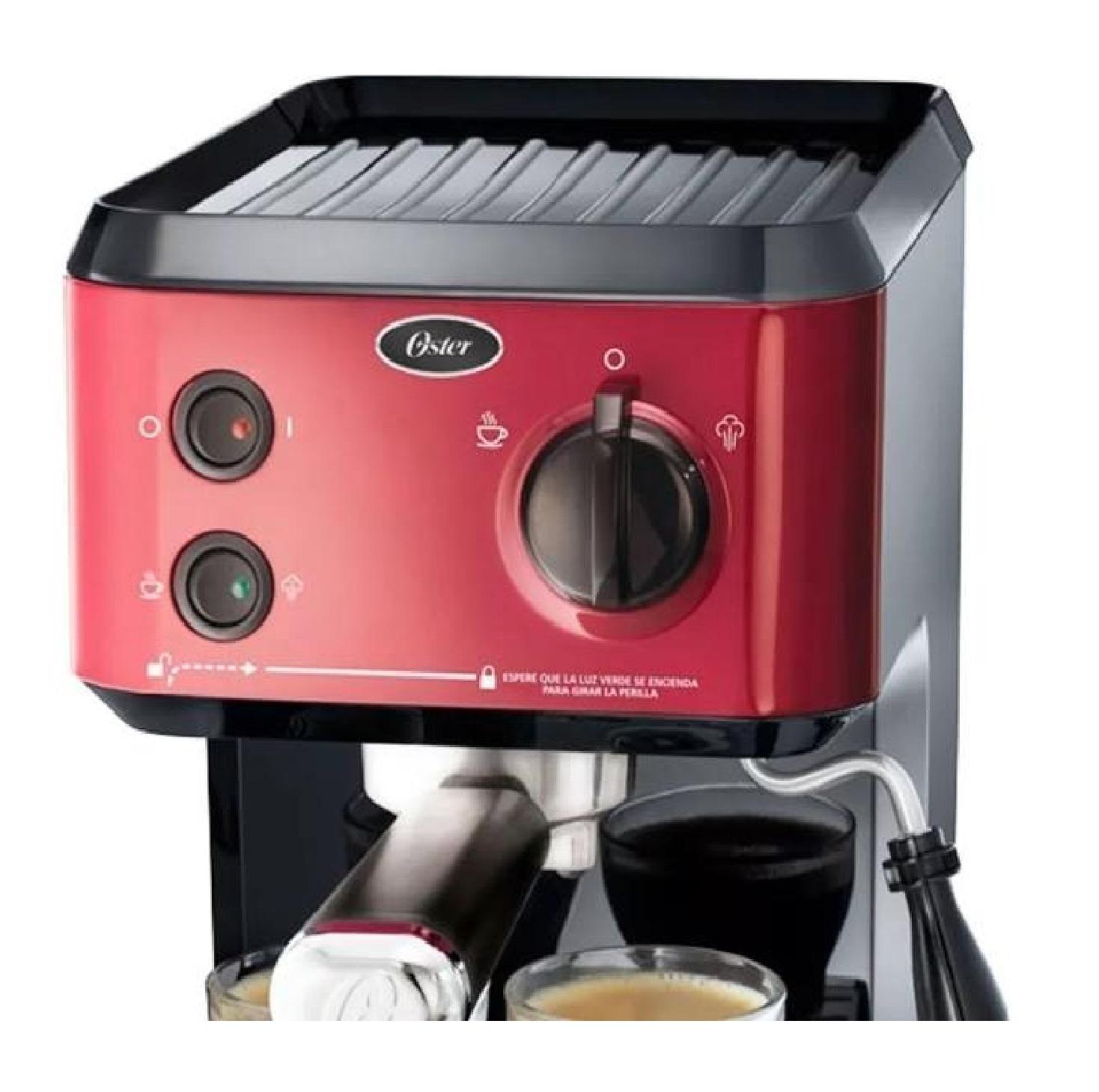 Cafetera Espresso Oster CMP65R 1,2L