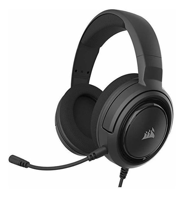 Auricular Corsair HS35 Stereo Carbon Pc Ps4 Xbox