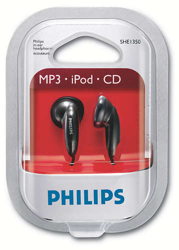 Auriculares Philips In Ear SHE1350/00