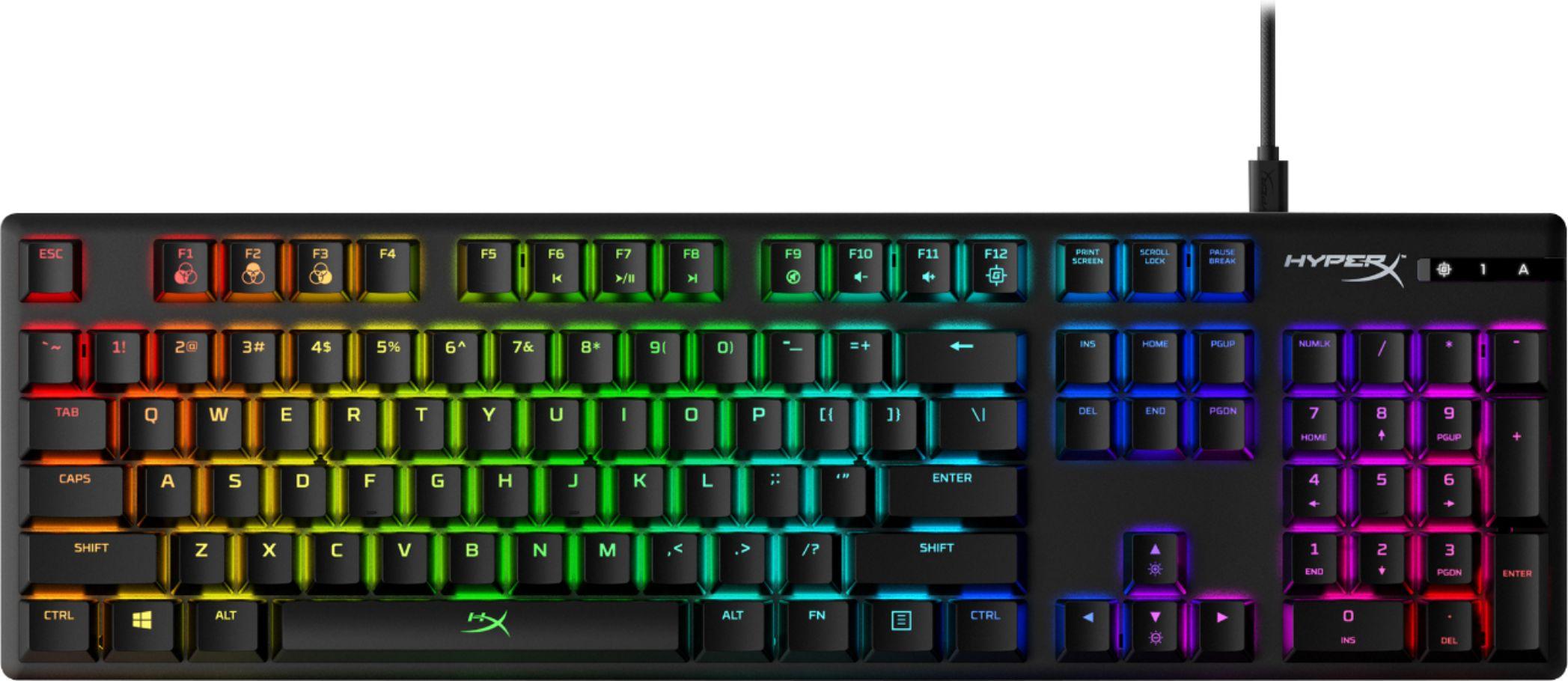 Teclado HyperX Alloy Origins RGB