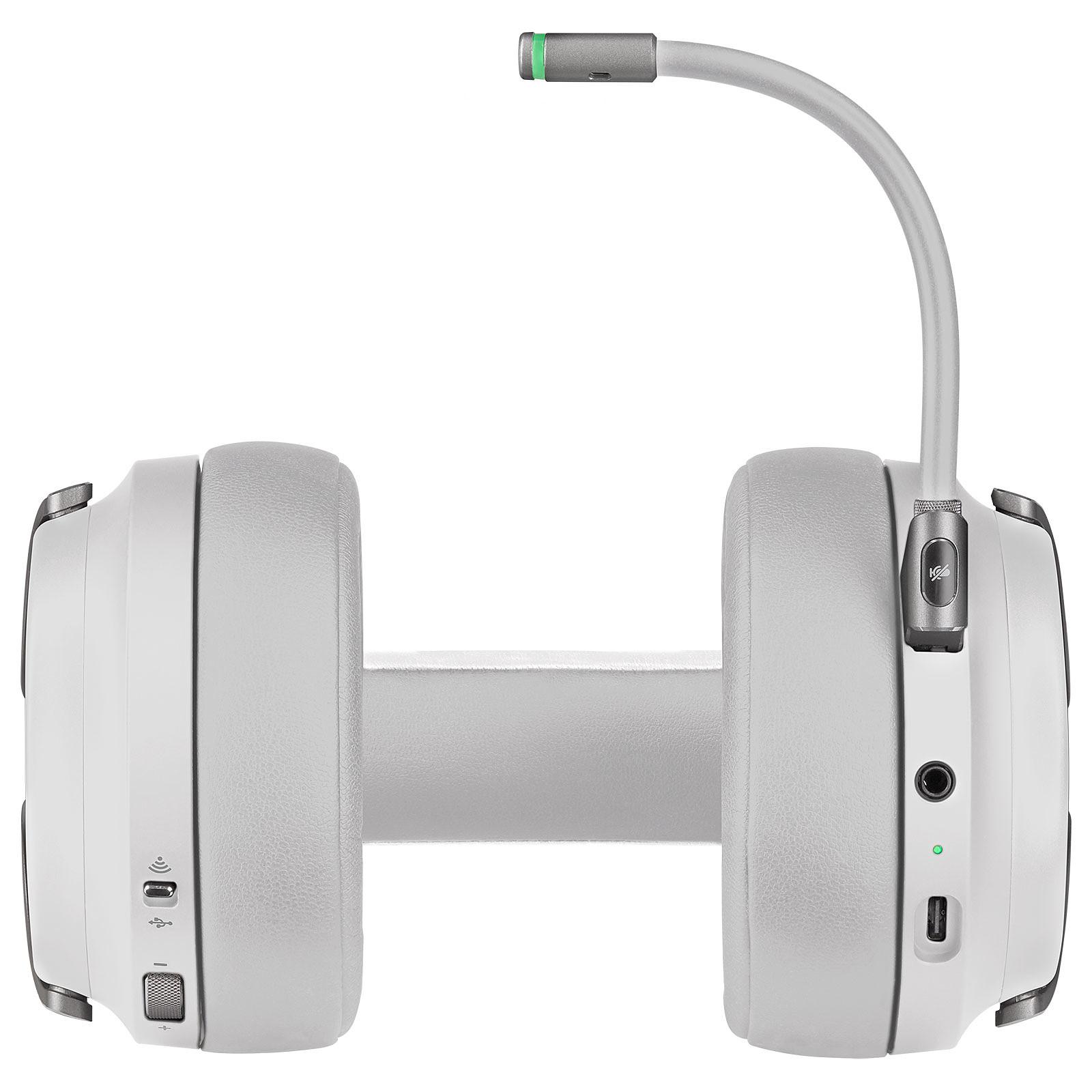 Auricular Corsair Virtuoso RGB Wireless Surround HiFi White