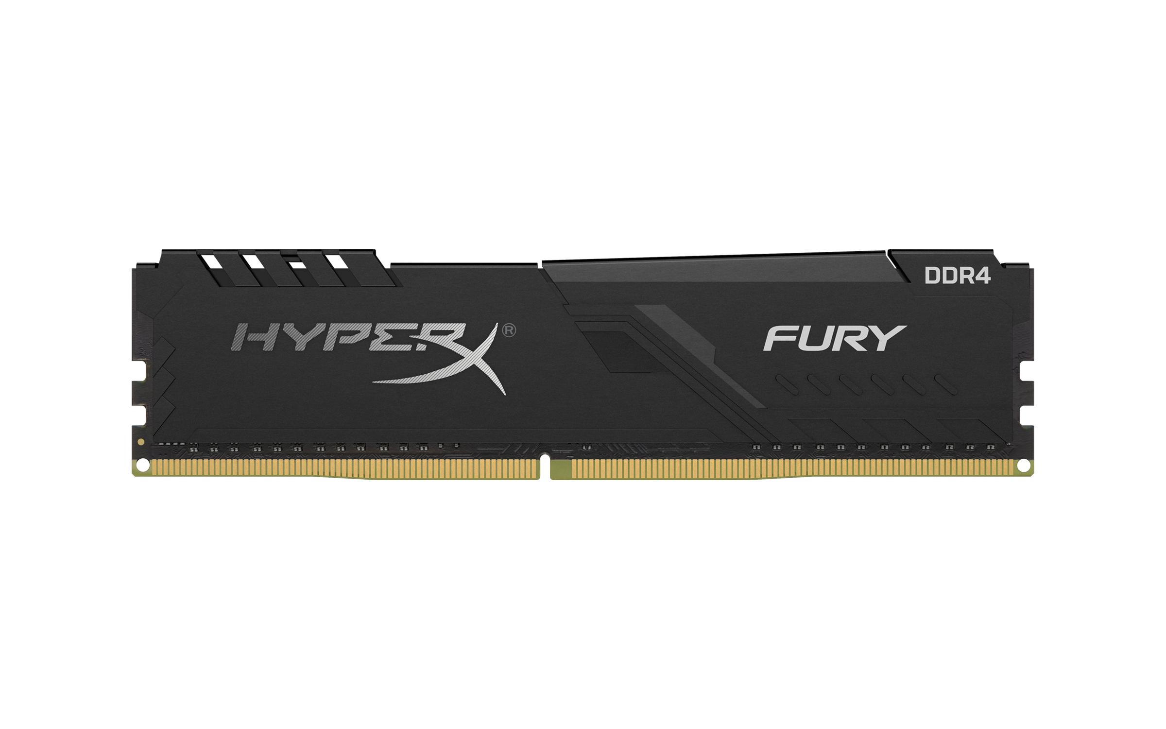 Memoria RAM DDR4 8Gb 3200Mhz HyperX Fury Black