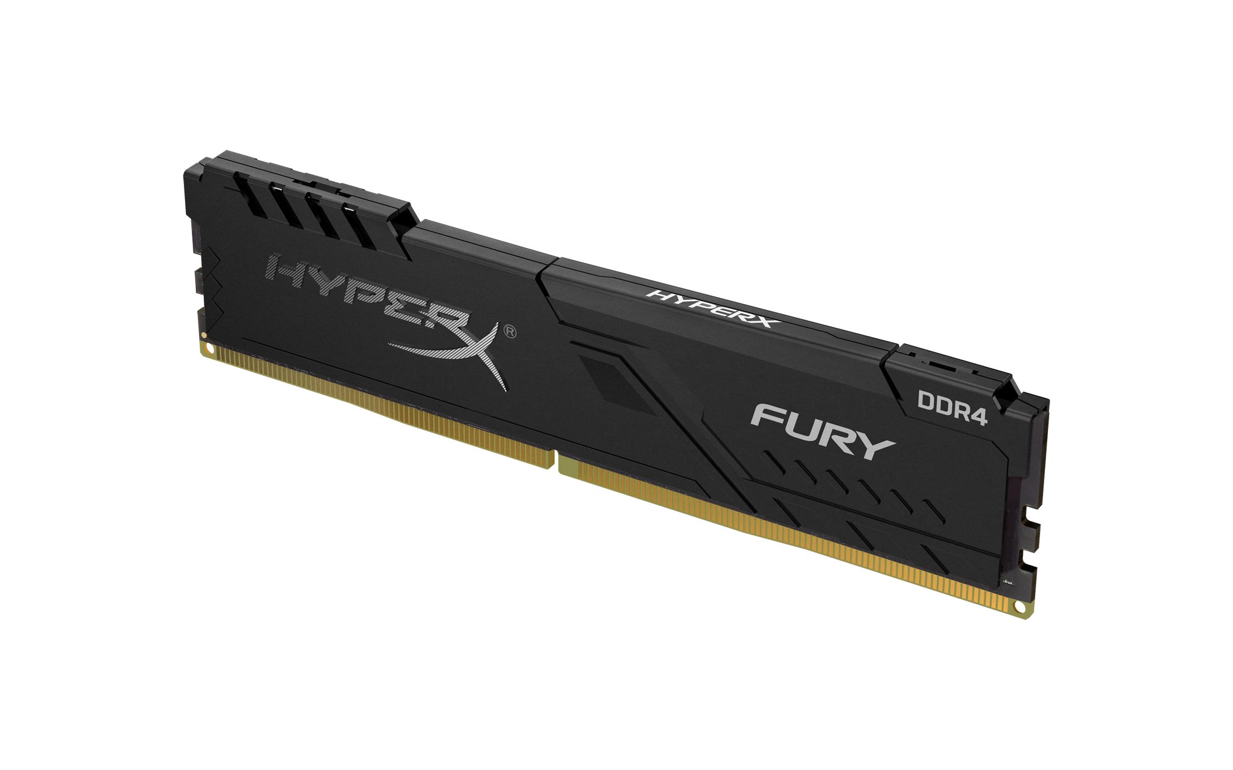 Memoria RAM DDR4 16Gb 3200Mhz HyperX Fury Black