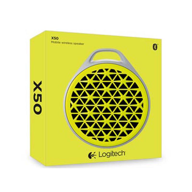 Parlante Logitech X50 Yellow