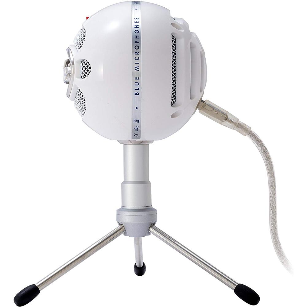 Microfono Logitech Blue Snowball White