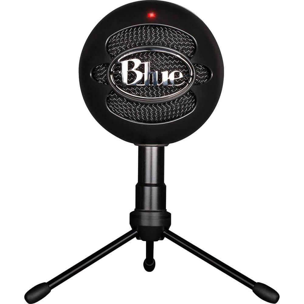 Microfono Logitech Blue Snowball Black
