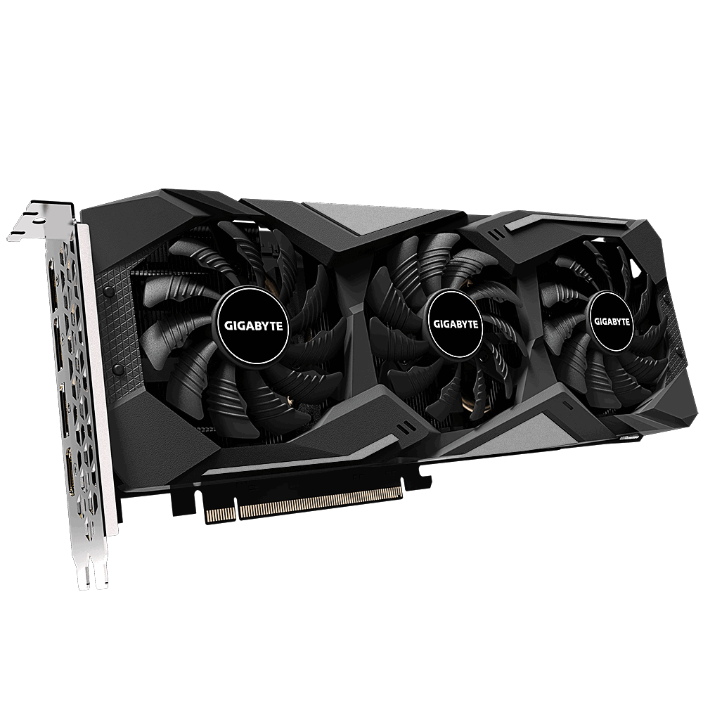 Placa de Video Gigabyte Ati Radeon RX 5500 XT Gaming OC 8G