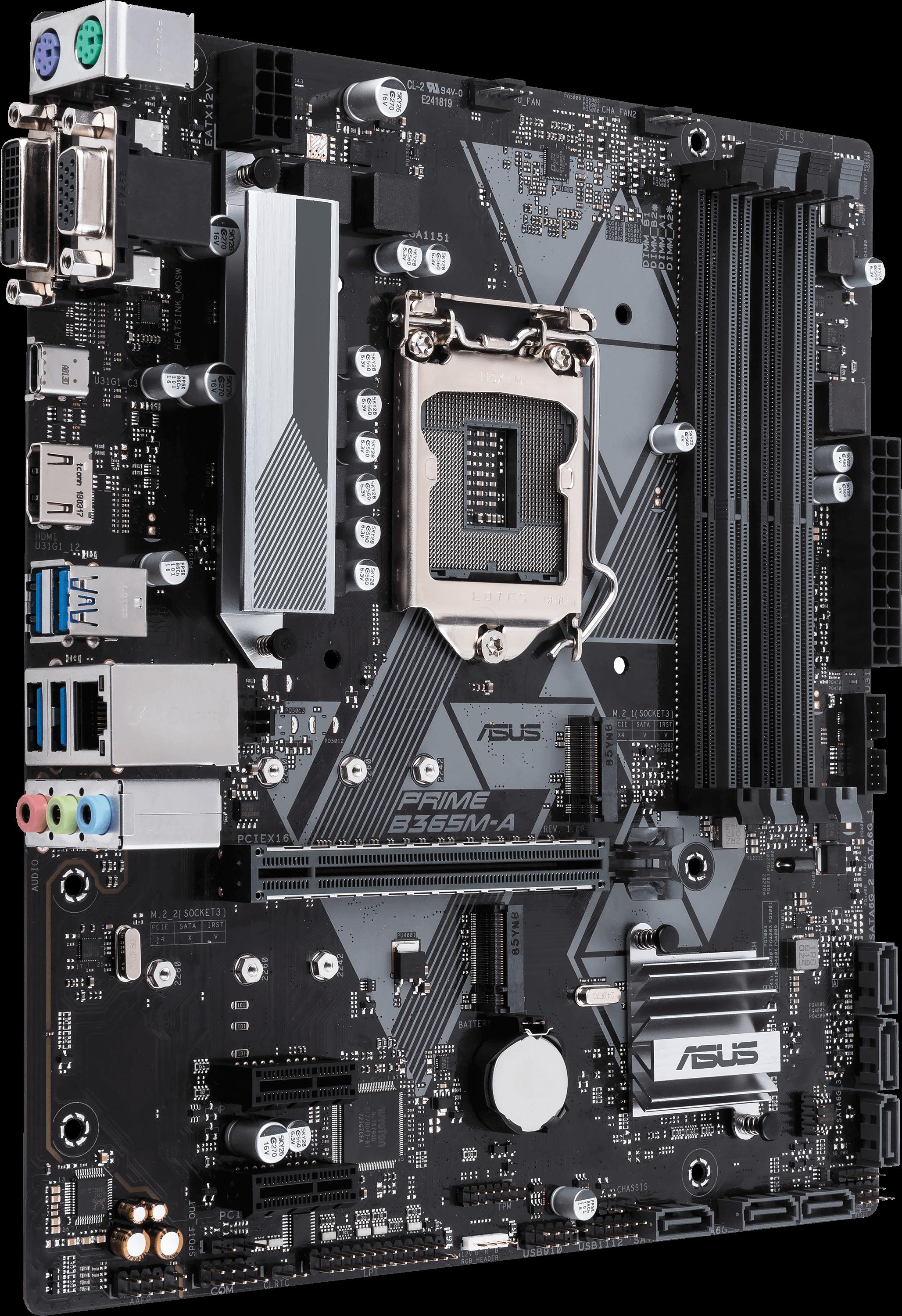 Motherboard Asus Prime B365M-A M-ATX Box 1151