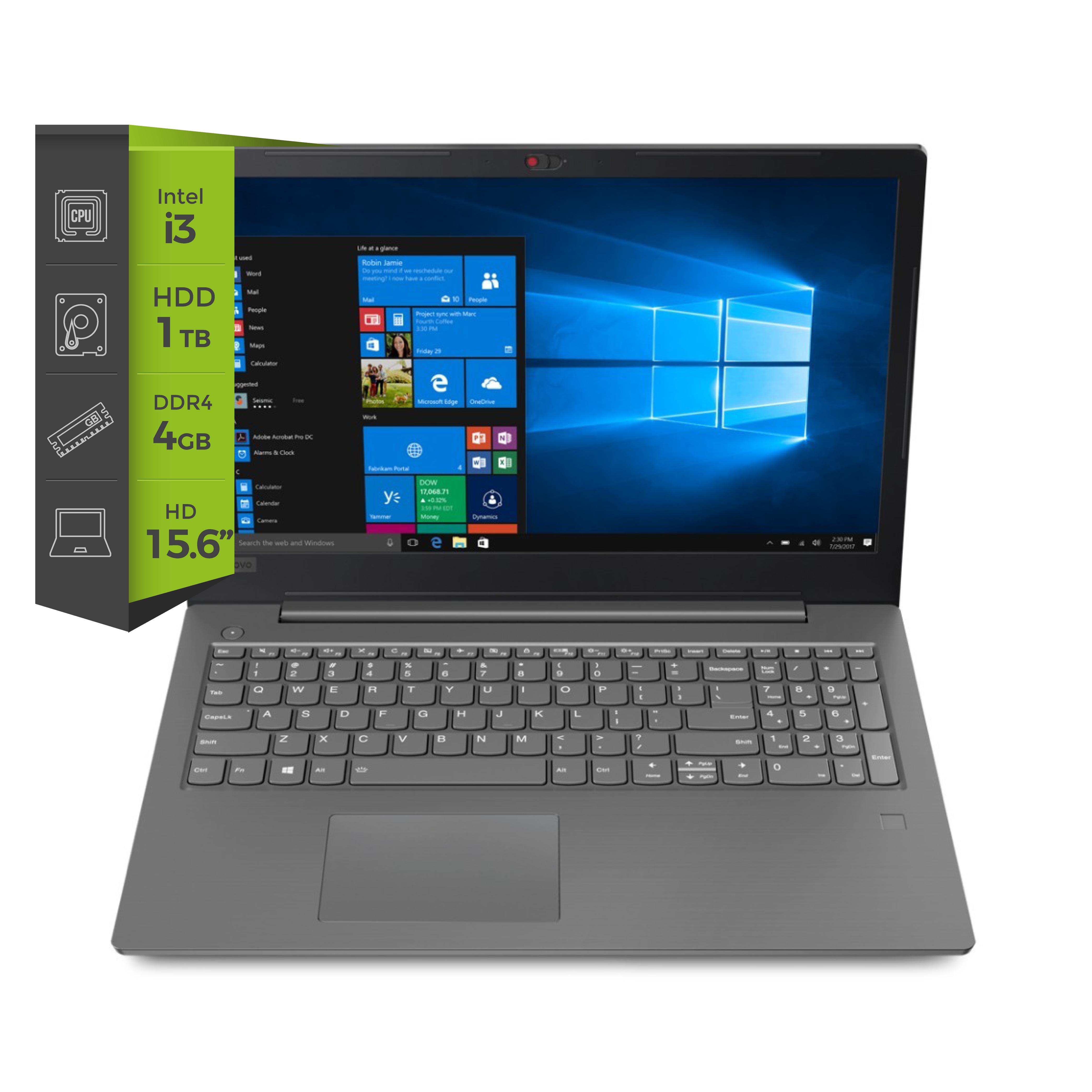 Notebook Lenovo V330 i3 7020u 4G 1TB 15.6 S/DVD Free