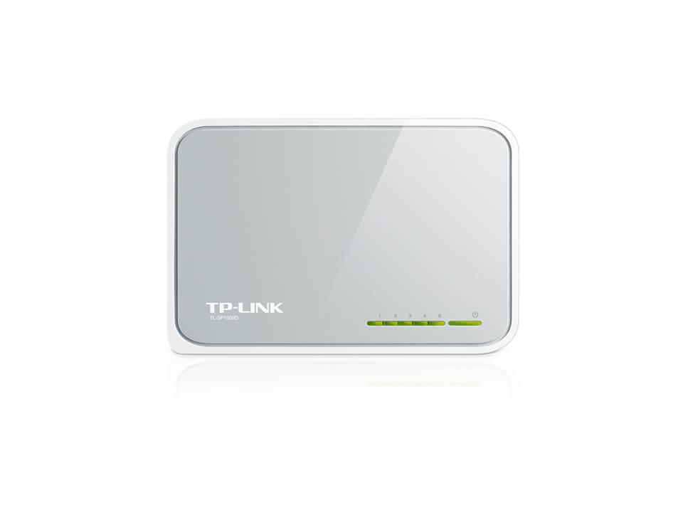 Switch Tp-Link Tl-Sf1005d 5 Puertos 10/100mbps