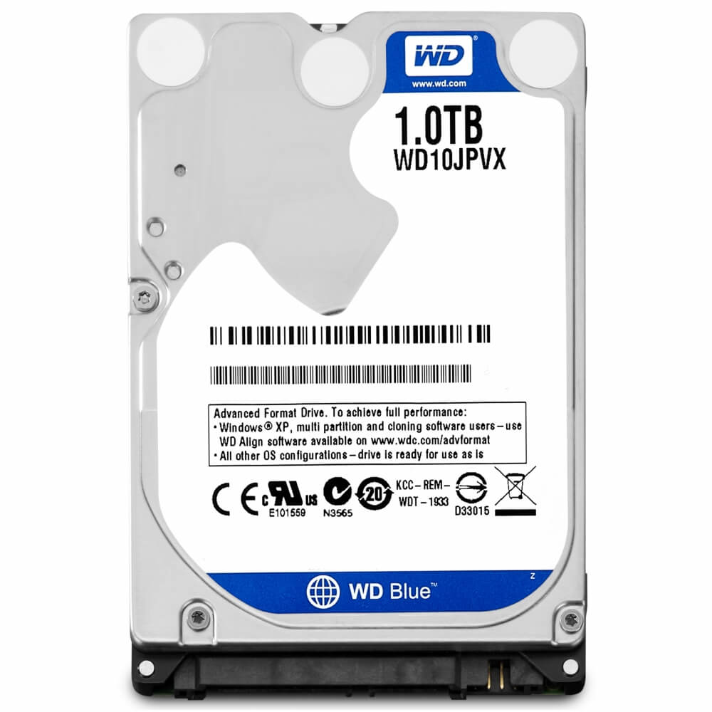 Disco Duro HDD 1 Tb WD Sata III 2.5