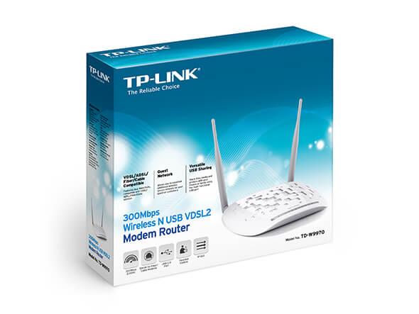 Modem Router TP Link TD-W9970 VDSL 300Mbps