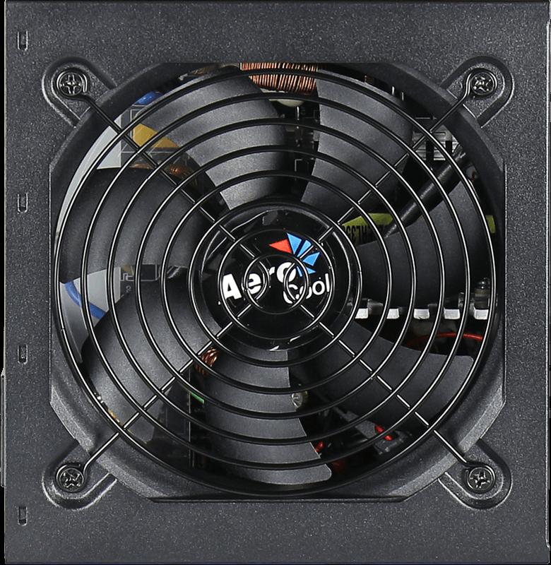 Fuente Aerocool 500w Kcas 80+ Bronze C/Fan