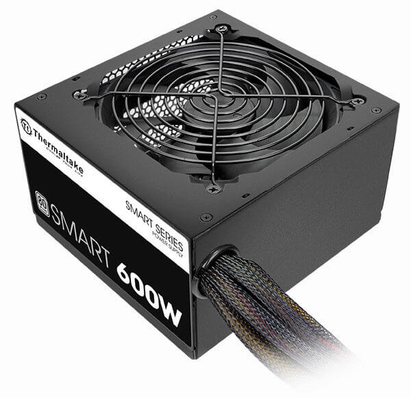 Fuente Thermaltake Smart White 600w 80 Plus