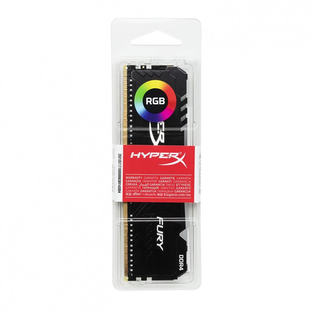 Memoria Ram Ddr4 8Gb 2666Mhz Hyperx Fury RGB