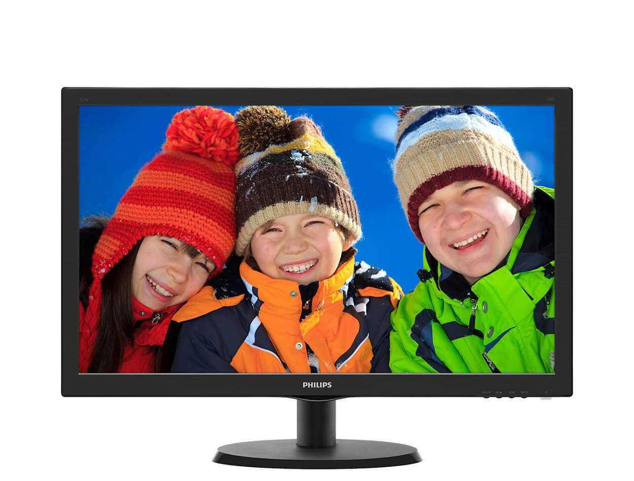 Monitor Led 22 Philips Hdmi 223v5lhsb2/77 Hdmi
