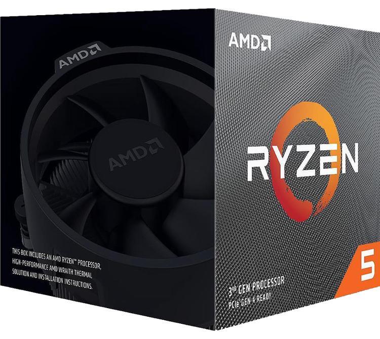 Microprocesador AMD Ryzen 5 3600X 4.4Ghz Wraith Spire S/G ZEN2 AM4