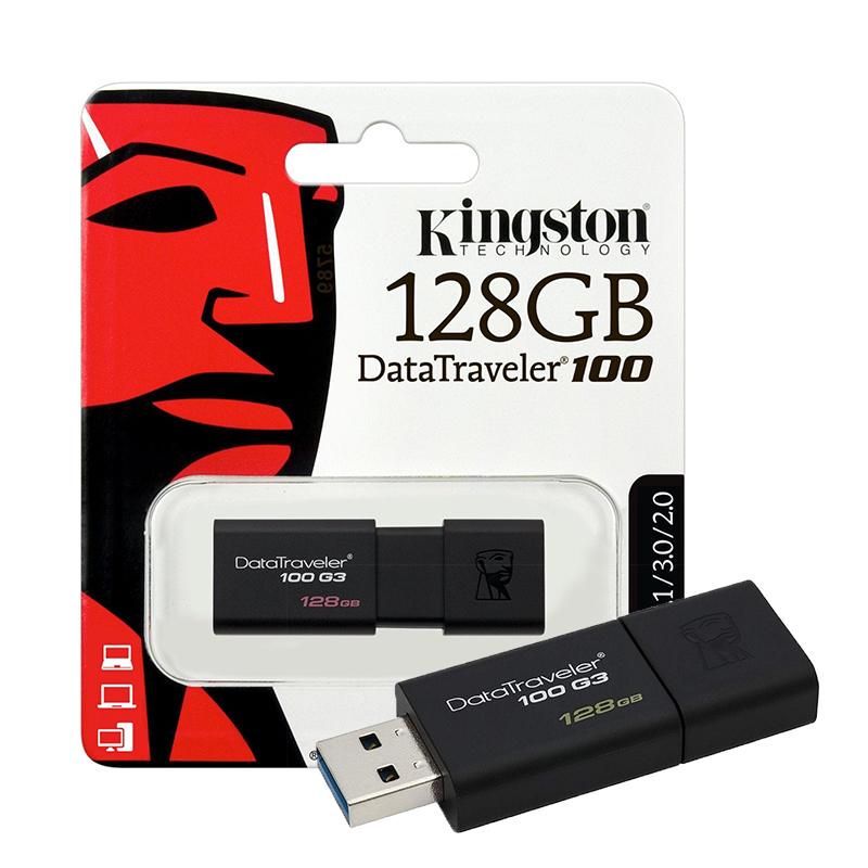 Pendrive 128 Gb Kingston DT100 Usb 3.0