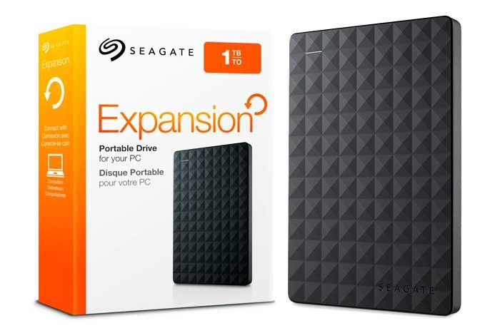 Disco Duro Externo 1 Tb Seagate Expansion Usb 3.0