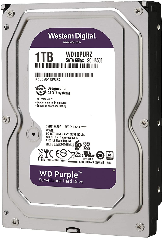 Disco Duro HDD 10TB Purple