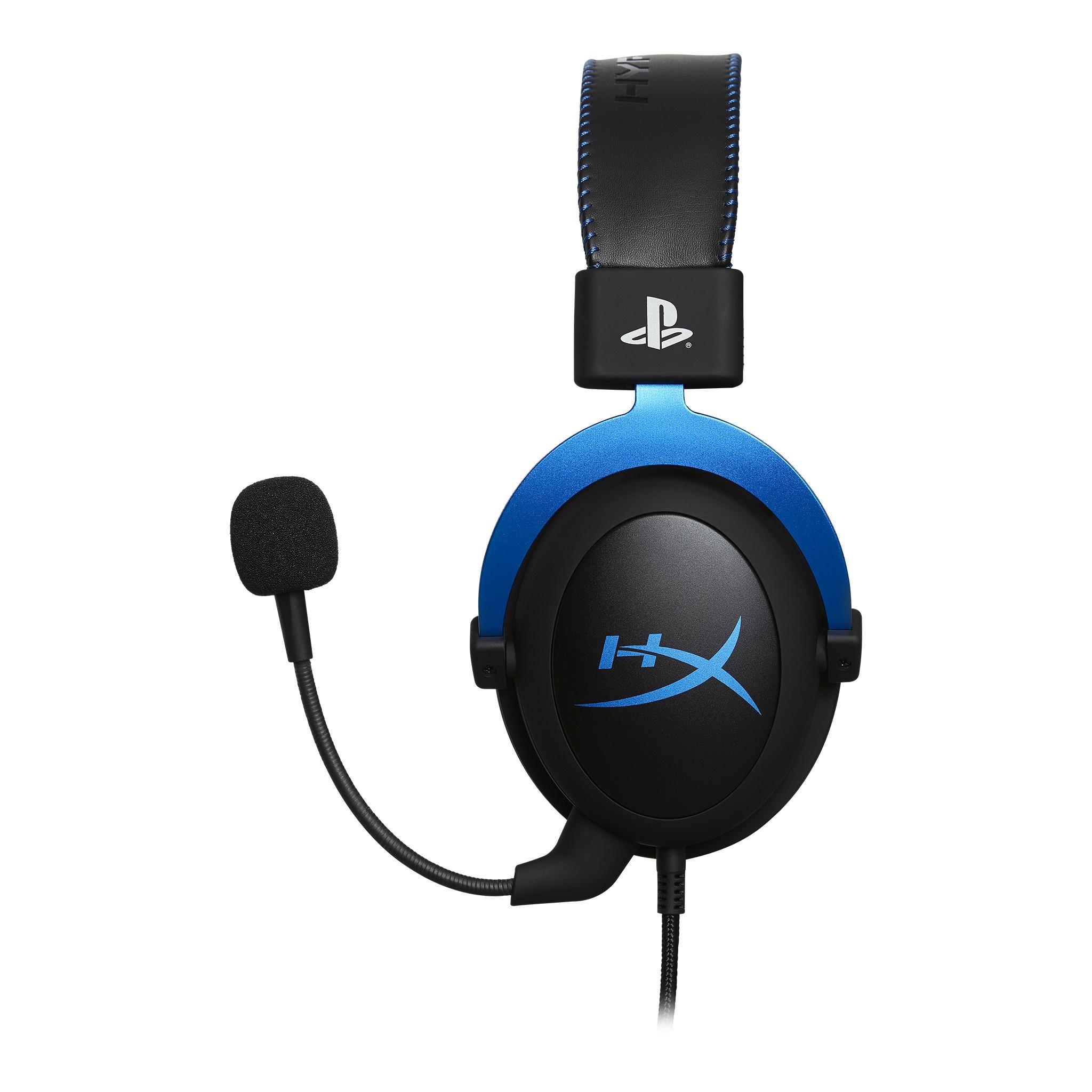 Auricular HyperX Cloud PS4 Azul