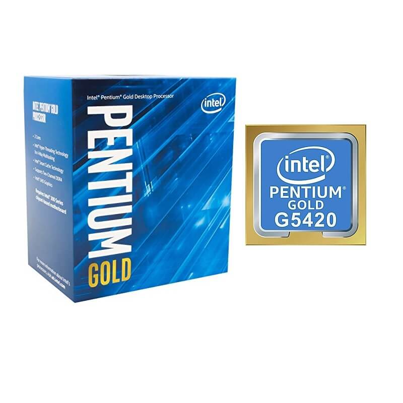 Microprocesador Intel Pentium G5420 D.Core 3.8Ghz 4M CoffeeLake S1151