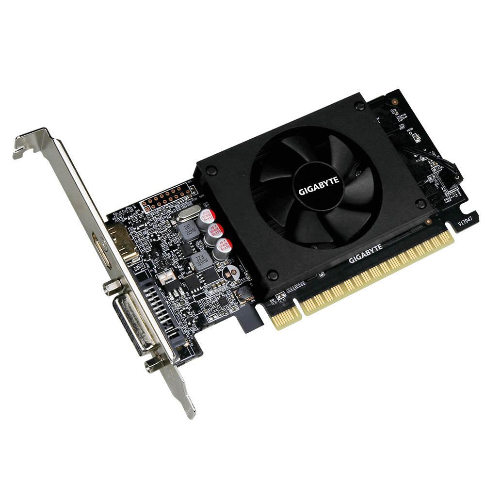 Placa de VIdeo GIGABYTE Nvidia GeForce GT710 1Gb DDR5