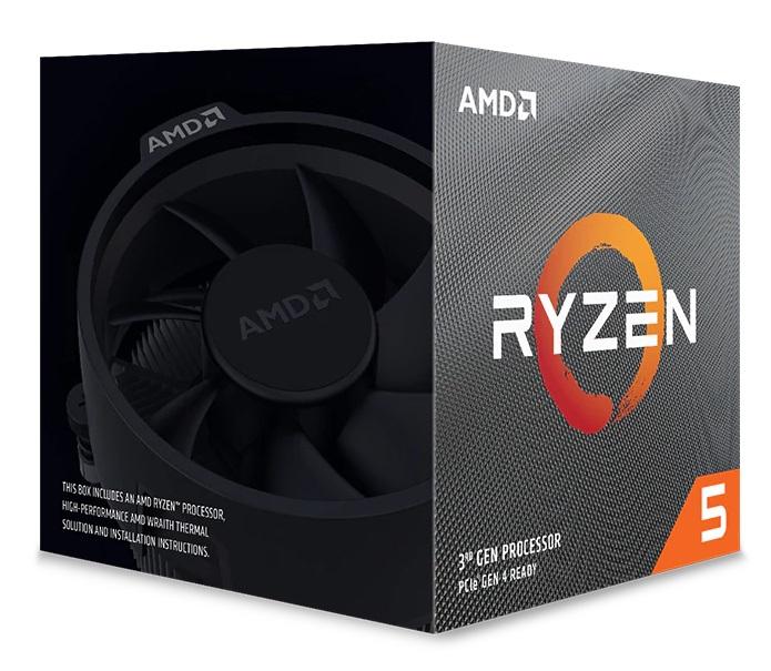 Microprocesador AMD Ryzen 5 3600XT 6/12 4.5Ghz Spire S/G Zen2