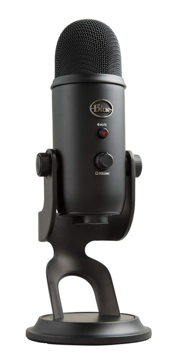 Microfono Logitech Blue Yeti Blackout Edition