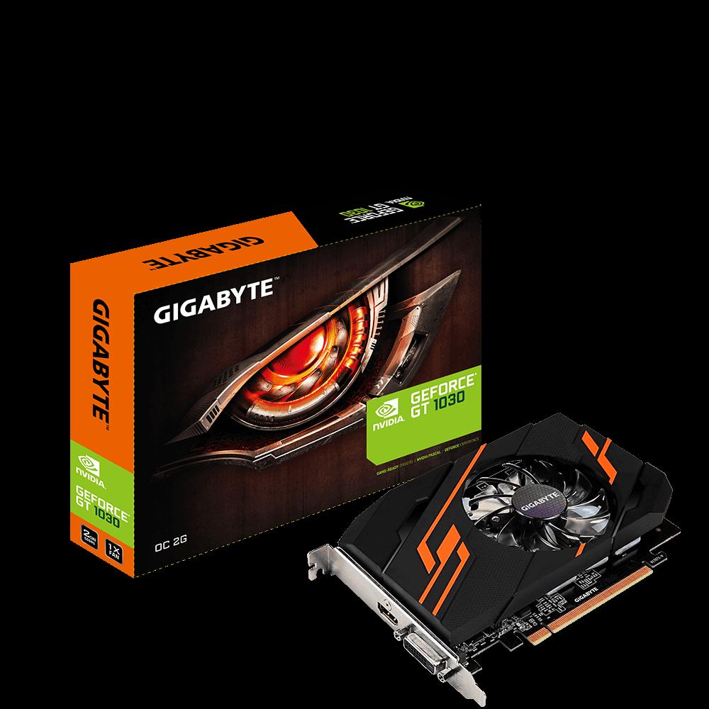 Placa De Video Gigabyte Nvidia GeForce Gt 1030 2gb Ddr5