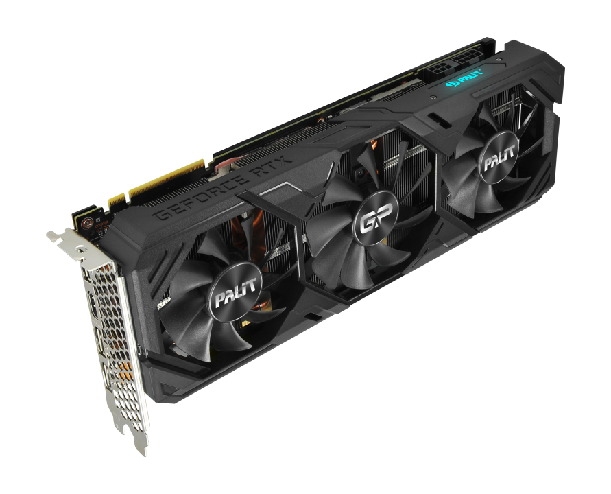 Placa De Video Palit Nvidia Geforce Rtx 2080 Super GP 8Gb