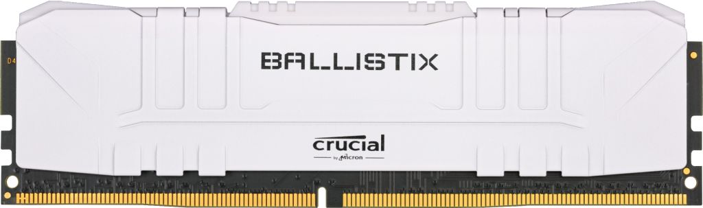 Memoria Ram DDR4 8Gb 2666Mhz Crucial Ballistix Gaming White Bulk