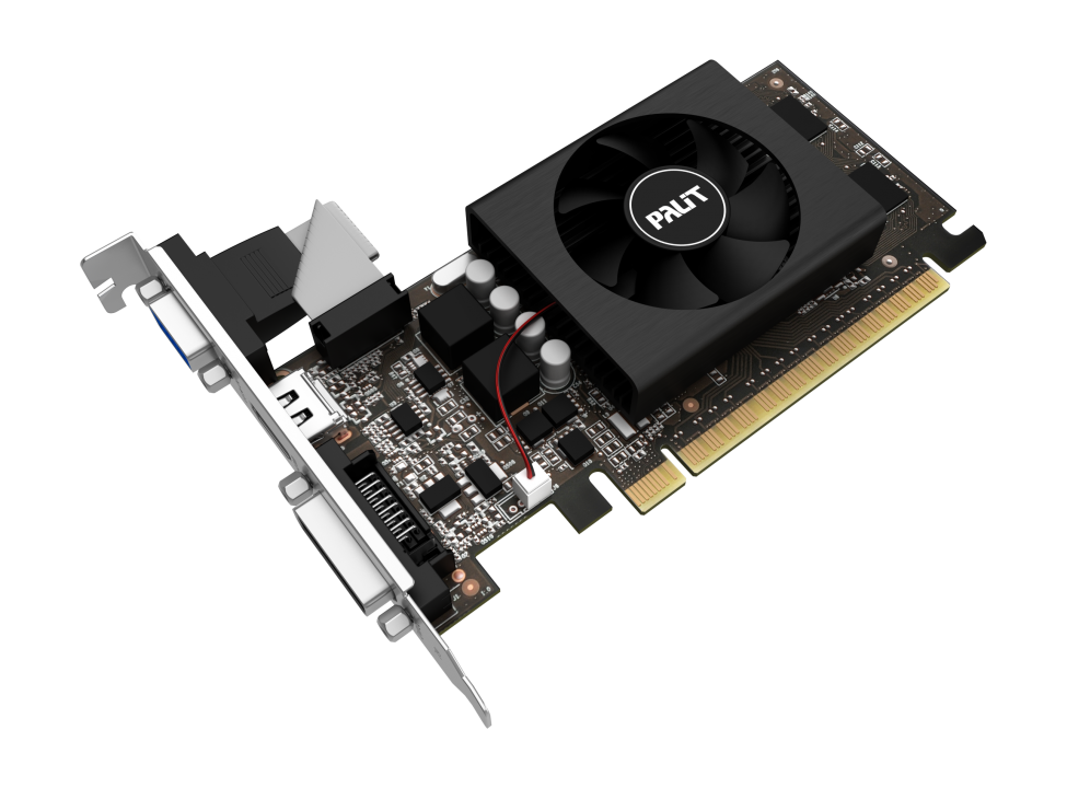 Placa De Video Palit Nvidia GeForce Gt 710 2Gb Ddr3