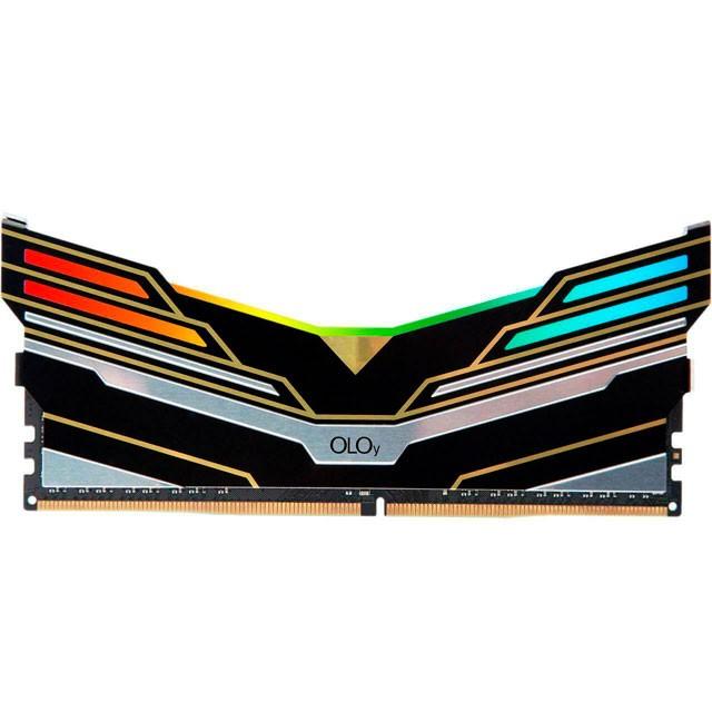 Memoria Ram DDR4 16Gb 3600Mhz Oloy Warhawk Black RGB C19