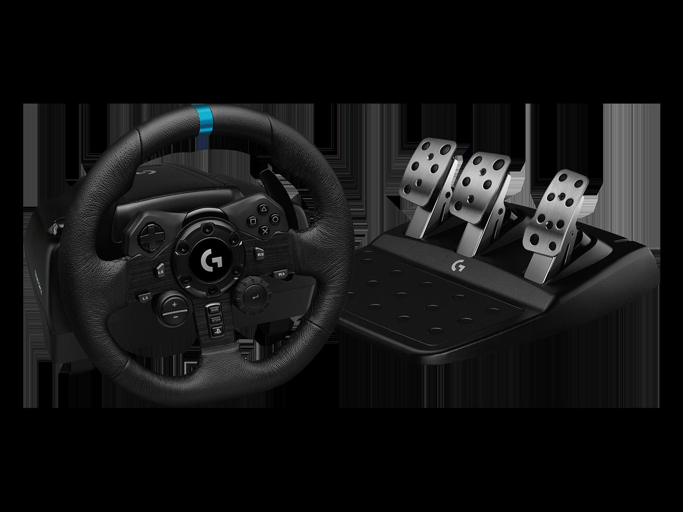 Volante Logitech G923 PS4/PC c/Pedales