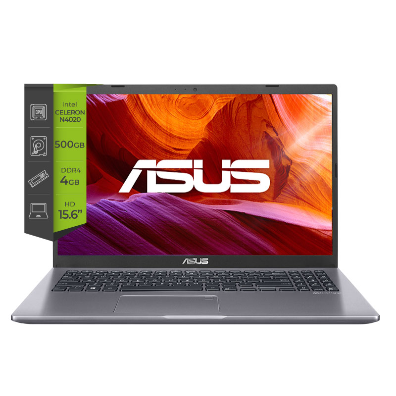 Notebook Asus X509MA-BR258 Intel Celeron N4020 4Gb 500Gb 15.6