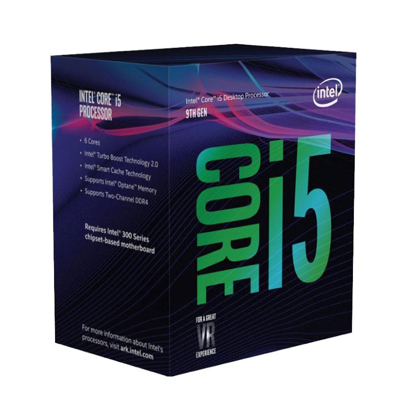 Microprocesador Intel Core i5 9400F Coffee Lake 4.1Ghz 9Mb LGA1151