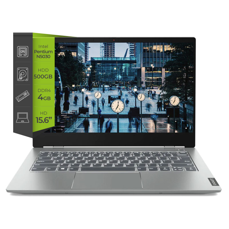 Notebook Lenovo V15 Intel Pentium N5030 4gb 500Gb 15.6