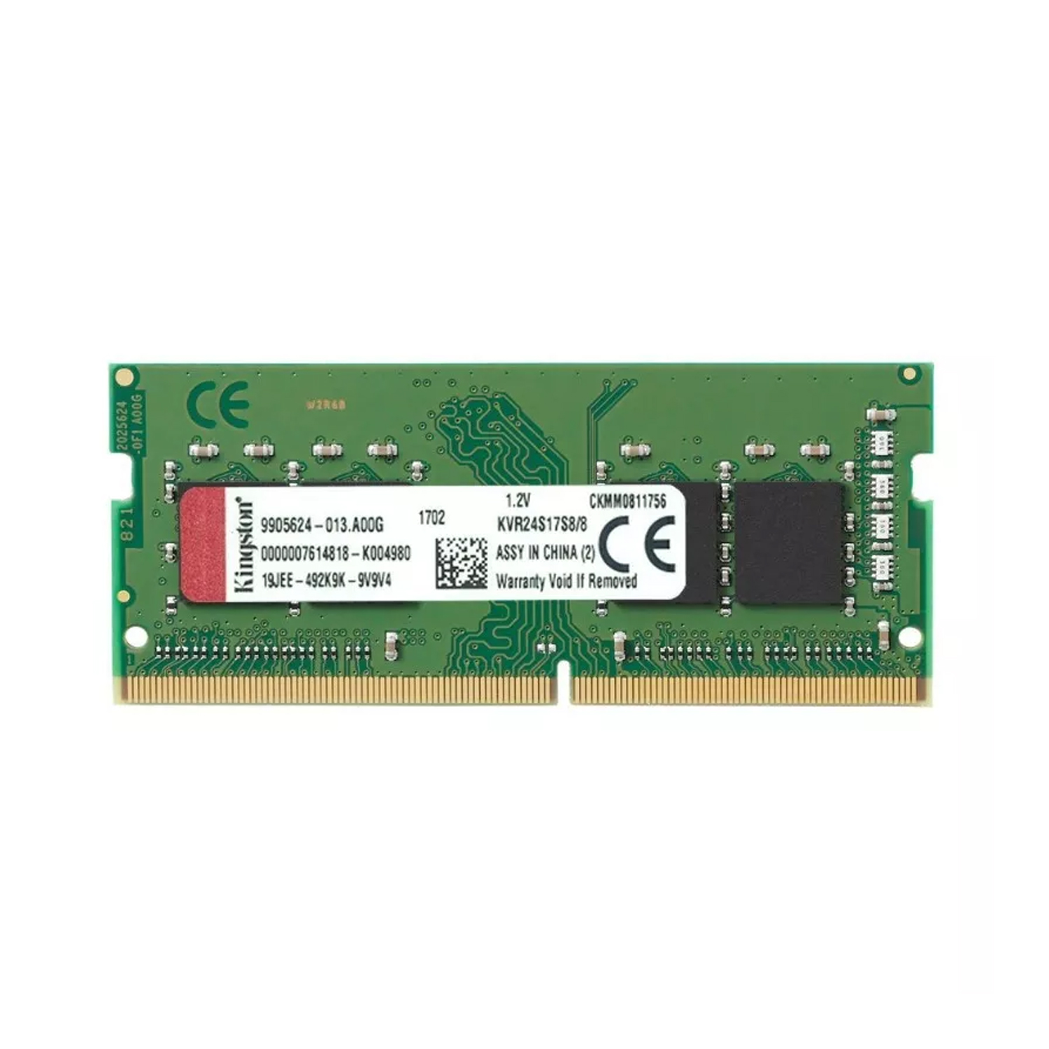 Memoria Ram Notebook Sodimm DDR4 8Gb 2666Mhz Kingston 1.2v